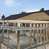 Om- og tilbygninger: Billede #1 af tilbygning i Bjæverskov