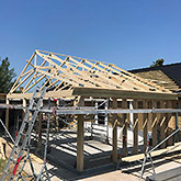 Om- og tilbygninger: Billede #2 af tilbygning i Bjæverskov