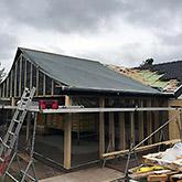 Om- og tilbygninger: Billede #3 af tilbygning i Bjæverskov