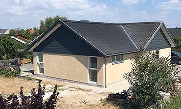 Om- og tilbygninger: Billede af tilbygning i Køge