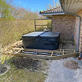 Tømrerarbejde: Billede #3 af terrasse i Bjæverskov