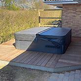 Tømrerarbejde: Billede #4 af terrasse i Bjæverskov