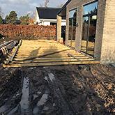 Tømrerarbejde: Billede #1 af terrasse i Greve